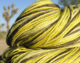 Fingering Weight Yarn - Bamboo and Merino Wool- Cloudless Giant