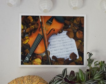 Violin/Viola Photographic Fine Art Print