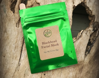 Face mask for acne - Face mask for teens - Face mask skincare - Clay face mask - Face mask organic - face mask powder - blackhead mask