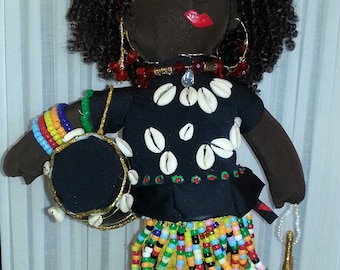 Hand Made African American Ankh Doll Collection