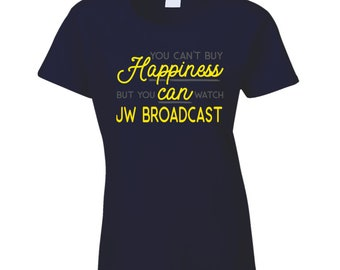 You Can Watch Jw Broadcast T Shirt