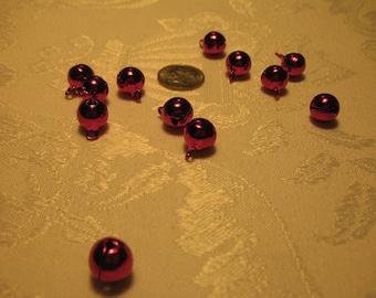 Beautiful Rose Colored Japanese Bells Set of 12 (One Dozen Bells)