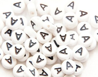 "50 St. Letter Beads ""a"""