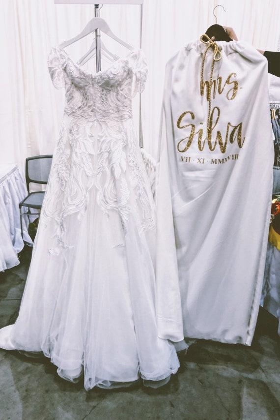 The Bride Bag | Custom Garment Bag | Wedding Dress Bag