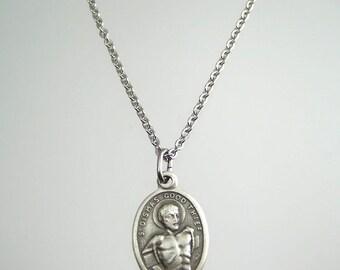 Saint Dismas Medal Necklace