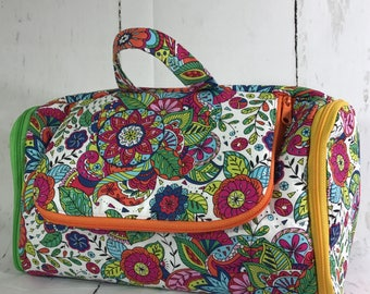 The Toiletry Tote PDF Pattern