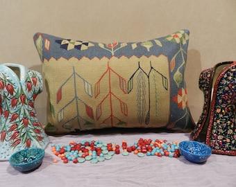 pillow covers,pillows,decorative pillows,kilim pillow,handmade pillow,wool pillow,vintage pillow,16x24inch,40x60cm