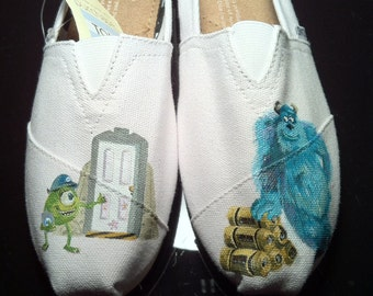 Hand Painted Monsters Inc. TOMS