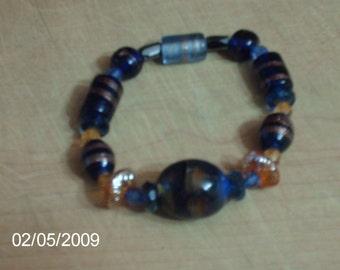 Bluejean Blues-Armband