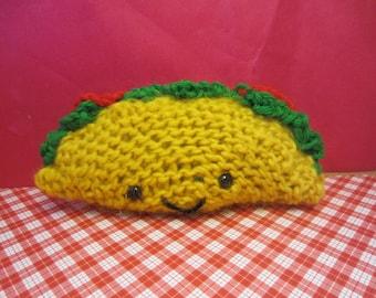 crochet taco amigurumi  SALE