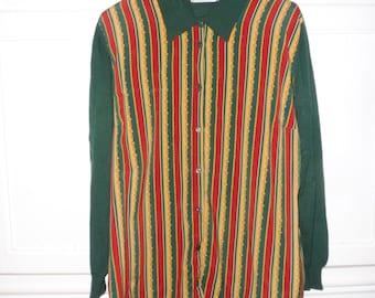 Sweater Pierbe size 48 (XXXL) - 1970s
