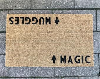Harry Potter Door Mat (doormat) Magic / Muggles™