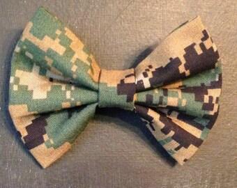 Marine Woodland Hairbow