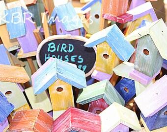 Tiny Bird Houses
