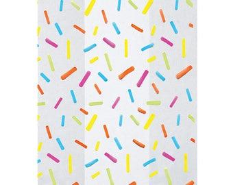 Sprinkles Cookie Bags, Sprinkles Cellophane Bags & Twist Ties, Sprinkles Favor Bags, Rainbow Favor Bags, Goodie Bags, Sweet Bags