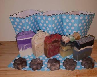 Five Hits Handmade artisan soap.