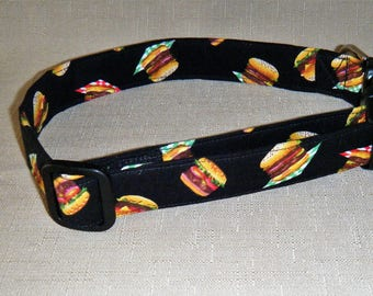 Hamburgers - Dog Collar