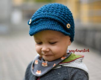 Knitted cap with Umbrella
