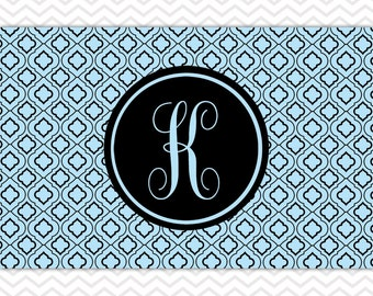 Placemat, Personalized Placemats, Monogrammed Placemats, Laminated Placemats, Paper and Laminate Placemats