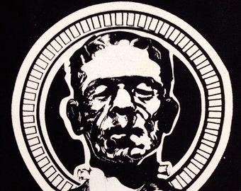 Frankenstein, Horror Patch, Punk Patch