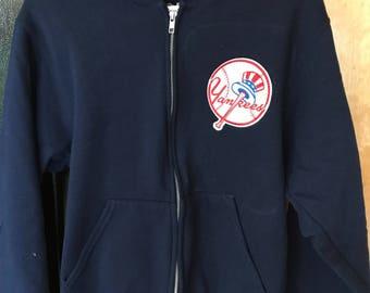 New York Yankee Embroidered Hoodie