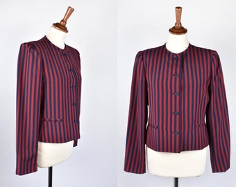 Striped Petite Blazer by SASSON
