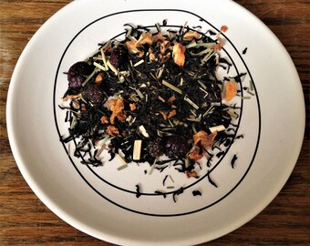 Order of the Black Silk Tea Blend - Viridian Tea Company