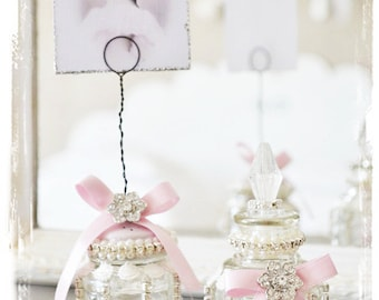 Duo of charm to this bottle and door photo shabby chic