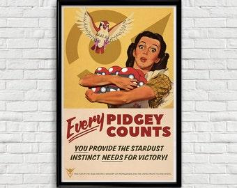 Pokemon Go - Team Instinct Vintage Propaganda Poster (11x17)