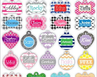 Custom Dog Tag Custom Pet Tag Personalized Pet Tag Personalized Dog Tag Pet ID Tag Dog ID Tag Dog Tags for Dogs Pet Accessories Pet Gifts