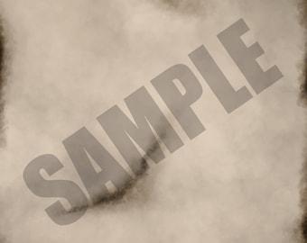 Beige Burnt Texture Single Sheet Digital Scrapbook Paper