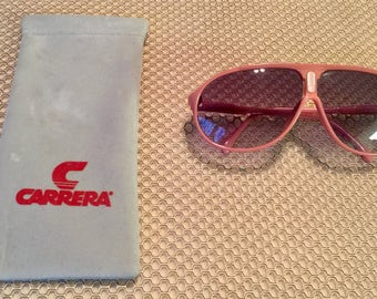 Carrera Aviator Salmon/Pink Sunglasses