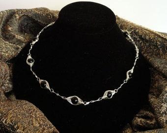 That's a Wrap Black Onyx Necklace