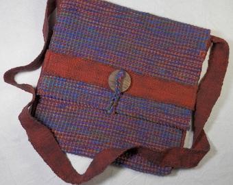 Handwoven Cotton Shoulder Bag