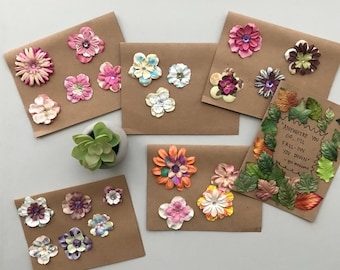 Floral 6 Pack of Blank Cards