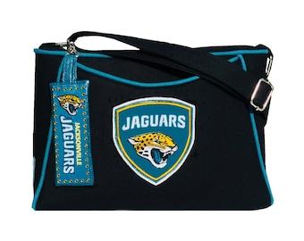 Jacksonville Jaguars Purse / NFL Handbag / FREE Bag Charm