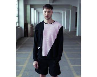 MONO-TOWEL-TOP - handmade sweatshirt jumper -
