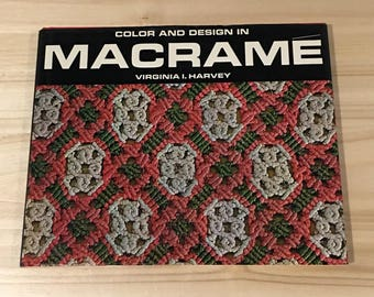 Vintage Macrame Book 1970's, Macrame Books, Vintage Arts and Crafts