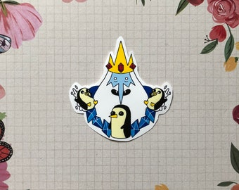 Adventure Time Ice King Sticker