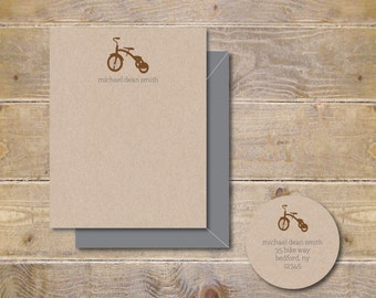 Baby Thank You Cards . Baby Shower Thank You Cards . Baby Shower Thank You Notes . Thank You Cards Baby . Recycled - Little Trike