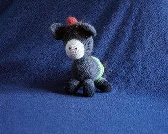 Pedro donkey crochet
