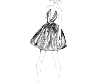 Couture Ink Dress