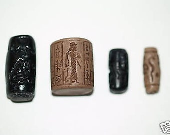 Ancient Cylinder Seal Set #3 Replicas