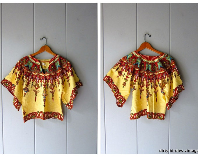 70s Ethnic Crop Top