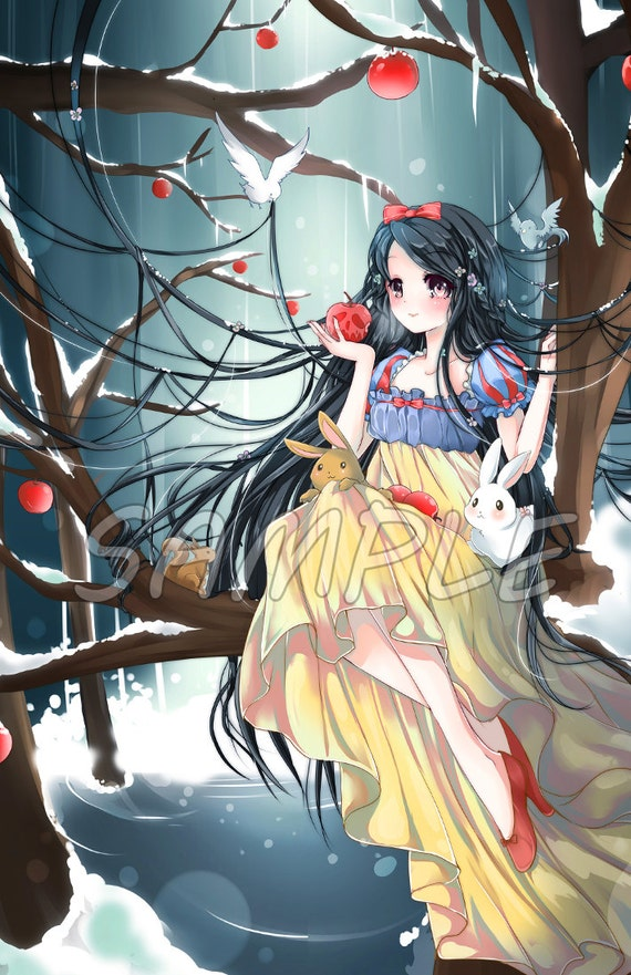 Snow White Grimm Fairy-Tale Large Print