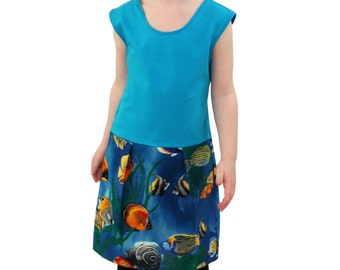 Under The Sea Pocket Play Dress