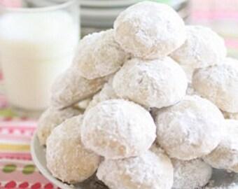 Always Festive - Always Good - 2 Dozen Italian Wedding Cookies