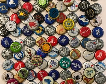 100 beer caps no dent