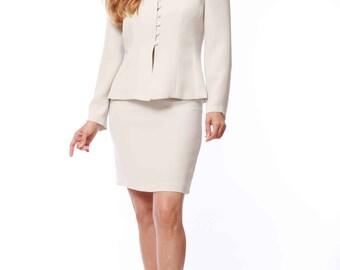 Gloria's Two-piece Skirt Suit Set