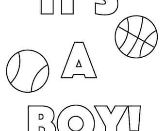 Printable Baby Shower Cards for Taboo Gender Reveal
